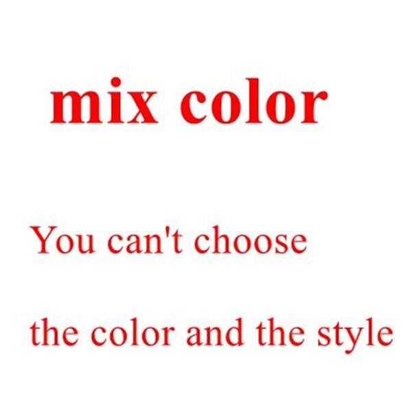 혼합 된 3 색