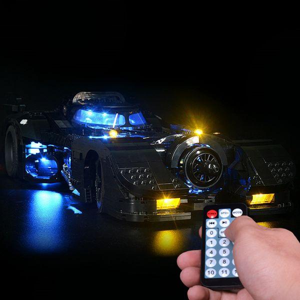 top popular led Light Kit For 76139 1989 batmobile car (only light kit included) Q1126 2021