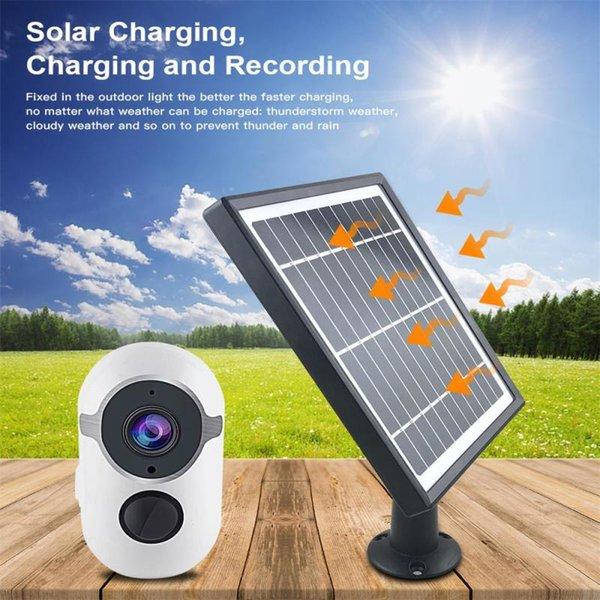 con paneles solares