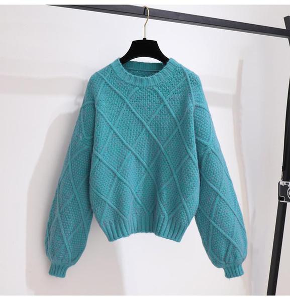 Pullover bleu