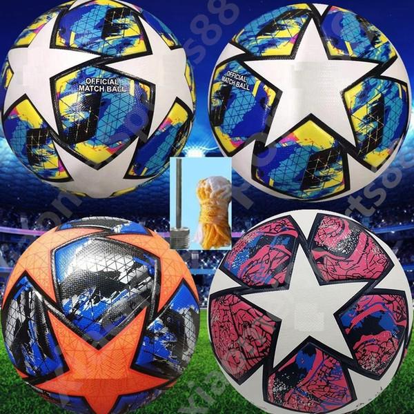 best selling New 19 20 European champion size 4 Soccer ball 2019 2020 Final KYIV PU size 5 balls granules slip-resistant football Free shipping