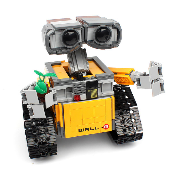 best selling In stock 16003 687pcs Creator Ideas Series Robot Building Building Blocks Bricks Toys Comptible 21303