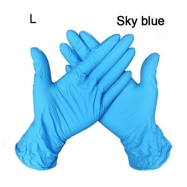 Gökyüzü mavi l