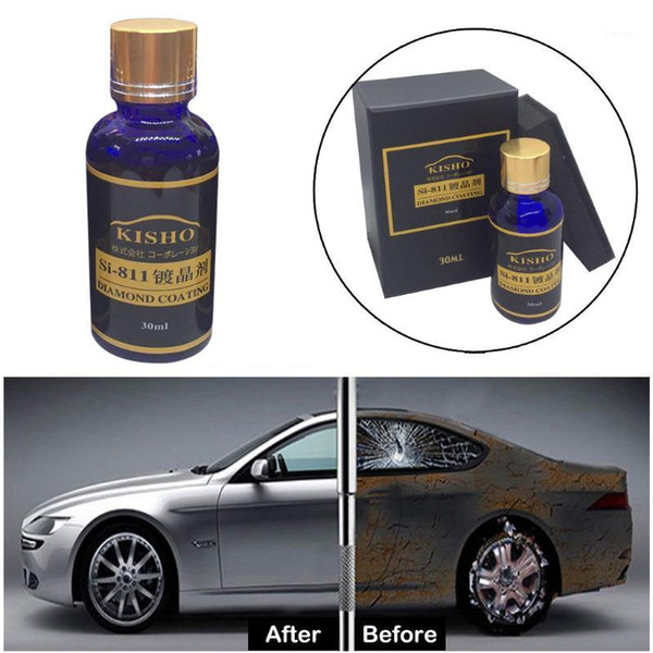 top popular Car Multi-Purpose Brilliaire Ceramic Coat 30ML Diamond Hydrophobic Glass Coating super hydrofobowa glass coating practical1 2021