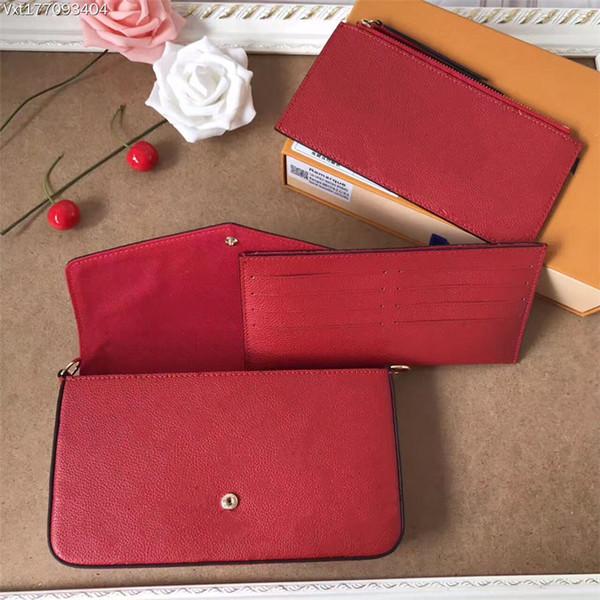 # 4 Kabartmalı Deri - Kırmızı