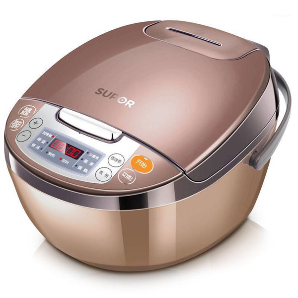 top popular 4L Automatic Home Electric Rice Cookers Smart Large-capacity Rice Cooking Machine Suitable 5-6 People New Kitchen Multicooker1 2021
