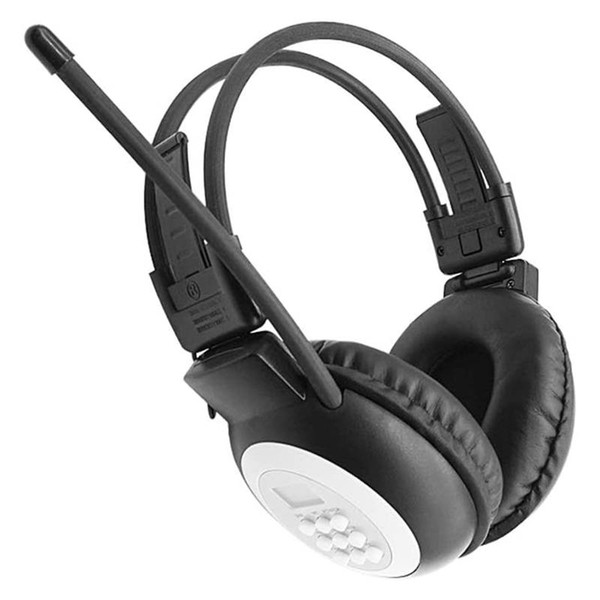 best selling Portable Personal FM Radio Headphones , Wireless Headset with Radio Built in for Walking, Jogging, Daily Work