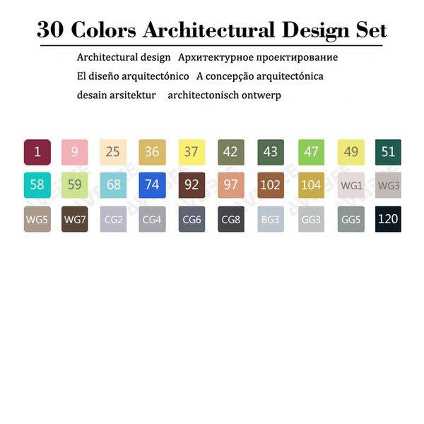 30 Set architettonico