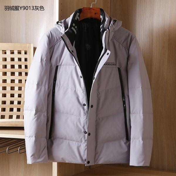 Down Jacket Y9013 Grey