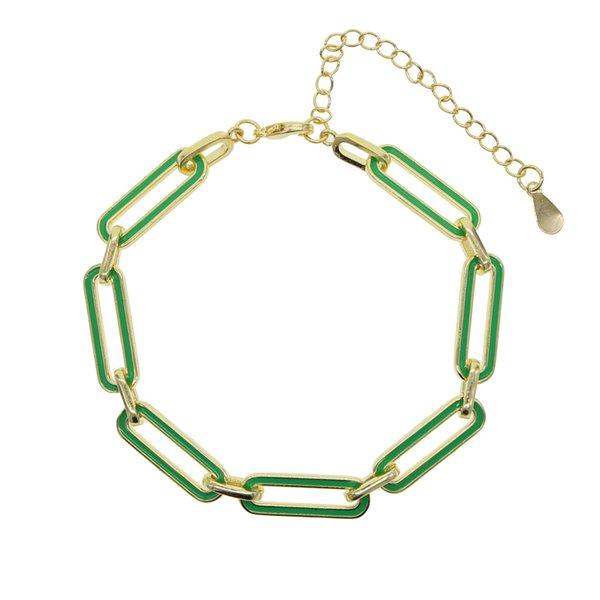 Rechteck grün-15 cm mit 4 cm erstrecken