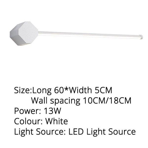 Blanco 60x5cm blanco cálido
