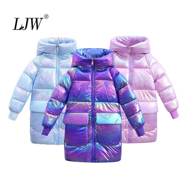 best selling Girls Long Coats Lightweight down Baby jacket for Girls winter Jackets For Kids Clothes boys hooded jacket Childrens' jacket Q1123