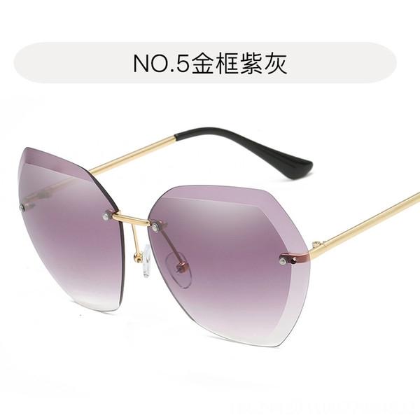 5. Золотая рамка фиолетовый серый