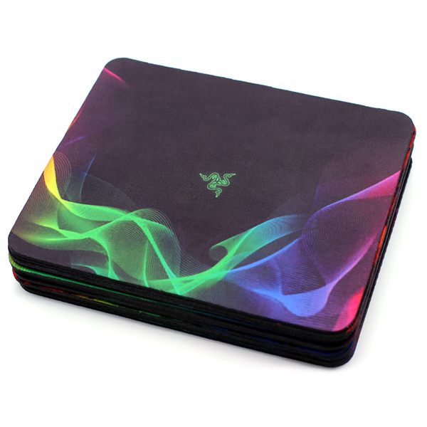 best selling New Razer Thickened Gaming Gaming Mouse Pad 240X200X2mm Seaming Mouse pads Mat For Laptop Computer Tablet PC DHL FEDEX