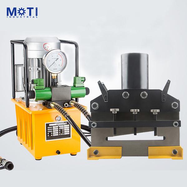 top popular Hydraulic Busbar Hole Punching Machine, Hydraulic Hole Puncher, Pump Operated 2020
