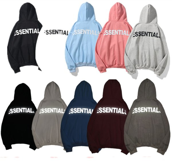 Official new high quality Mens and womens hoodies Leisure fashion trends fear of god fog essentials men women designer mens tracksuit