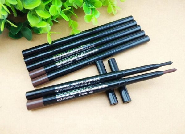top popular free shipping DHL! HOT new Top quality makeup eyeliner waterproof retro eyeliner pencil 1.5g only brown 2021