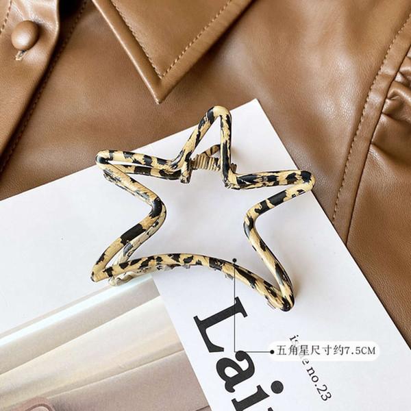 Clip d'impression léopard d'étoile de mer