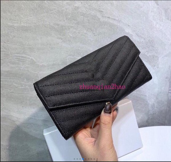 2020 famous leather 3A+ classic wallet handbag ladies fashion clutch soft leather folding messenger bag fannypack handbag wholesale 02