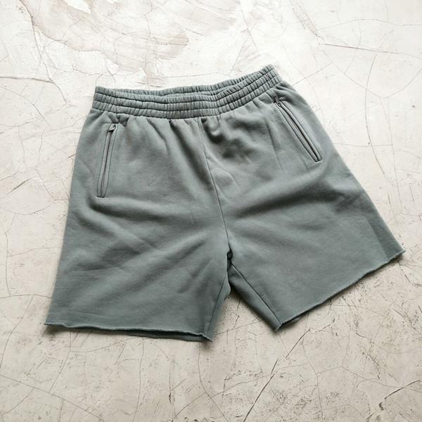 Shorts azuis empoeirados