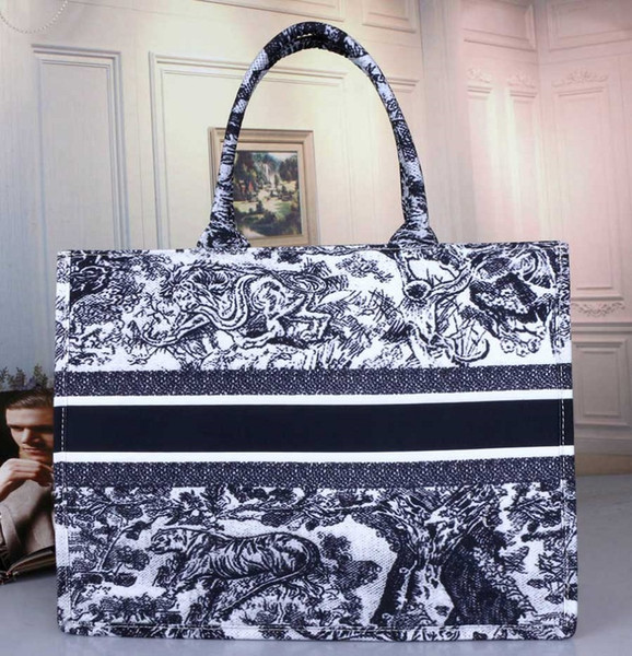best selling 2020 Fashion Hot Handbags Designer Print Embroidery Multicolor Single Shoulder Large Capacity Bucket Bags