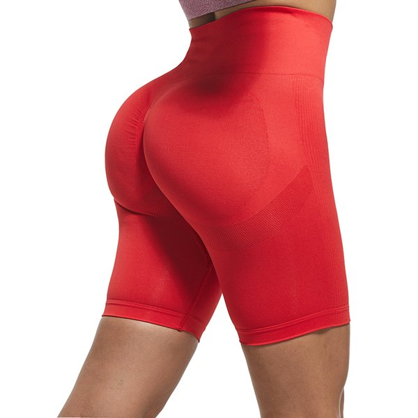 Leggings courts rouges