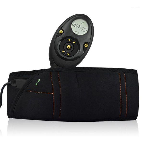 top popular Muscle Training Exercise Belt Smart Slimming Massage Belt Abs Abdominal Muscle Toner Workout Massage 10 Modes 150 Intensity1 2021
