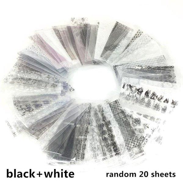 Siyah-beyaz-20 adet
