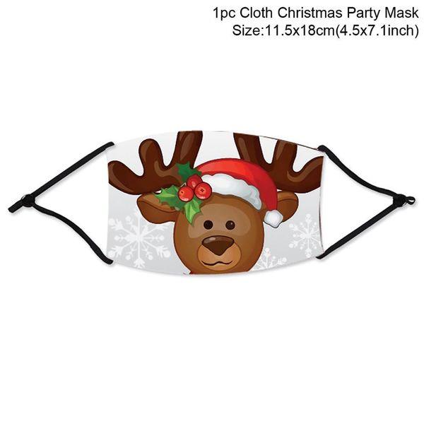 máscara de Natal 1