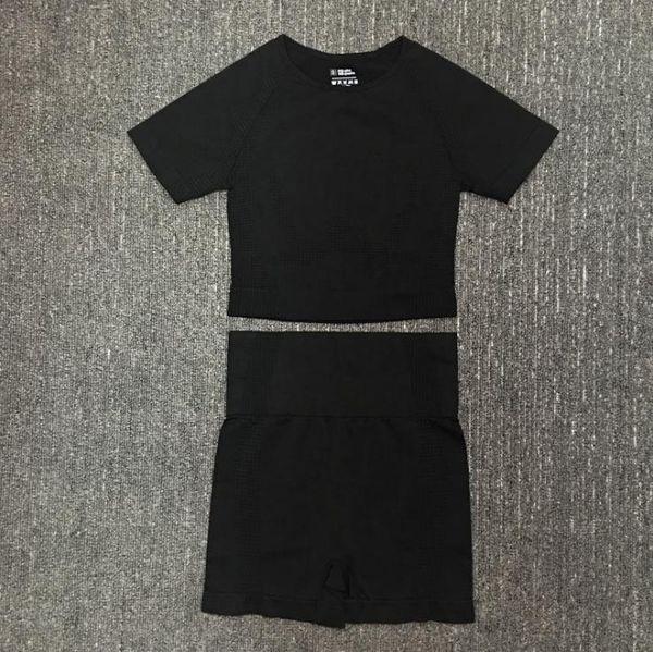 Noir courte 2pcs