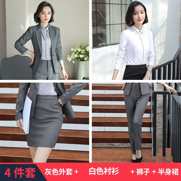Cappotto grigio Camicia bianca B179 Pantaloni