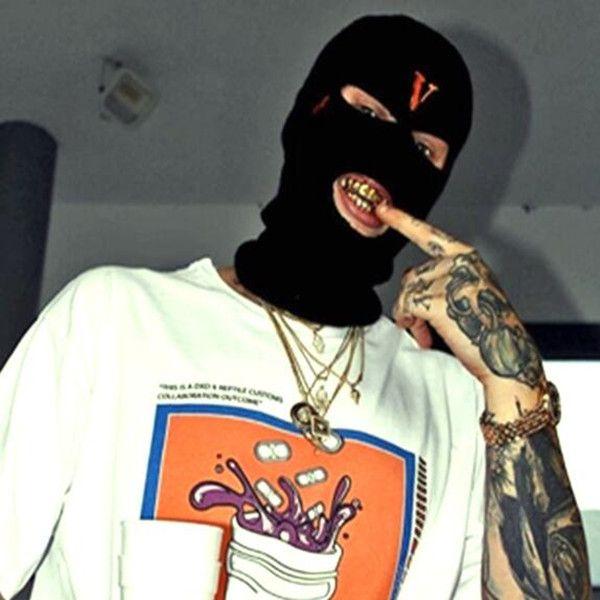 best selling 2021 New Hip Hop V POP STORE Guerrilla Shop Limits Bandit Heads to Wear Wool Caps and Cold Caps Dual-purpose Bandit Masks