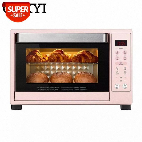 best selling CUKYI Intelligent Touch panel Control Digital Ovens Electric Household Baking Oven multifunctional 35L Capacity #c38g