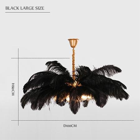 black large size