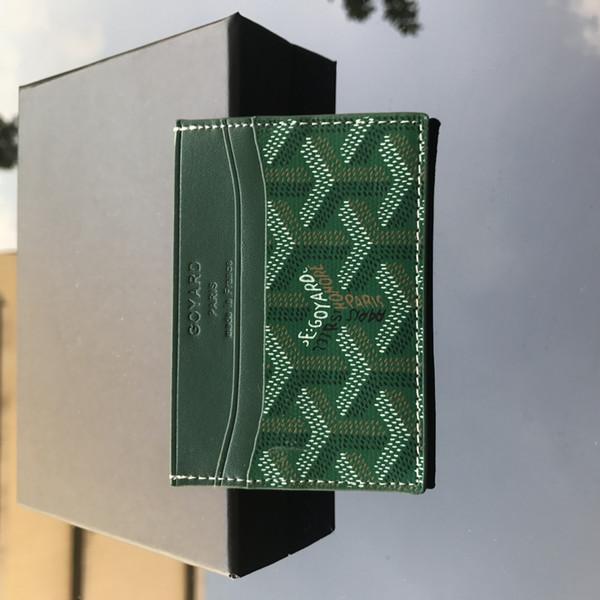 Green - Card Case