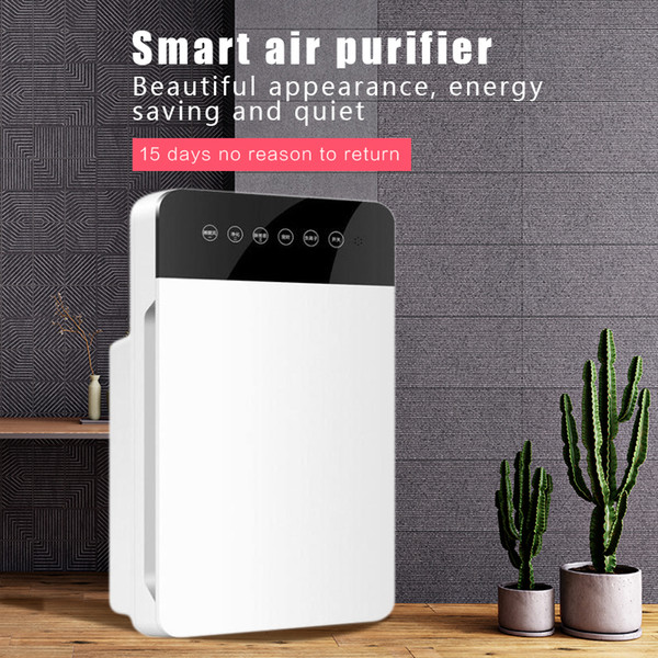 top popular Household Air Purifier Autmatic Purification Negative Ion Deodorization Intelligent Remote Control Touch Sensing Purify and Sterilize 2021