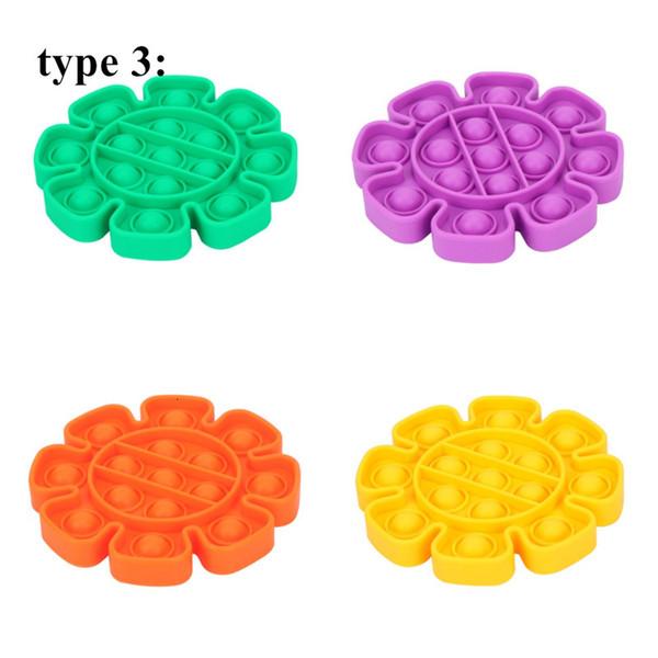 Tipo 3, misturar cores ou lista