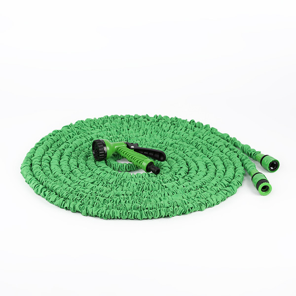 best selling 15m New telescopic hose natural latex garden watering hose multi-specification garden hose