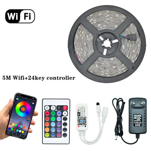 Controlador de 5m WiFi + 24key