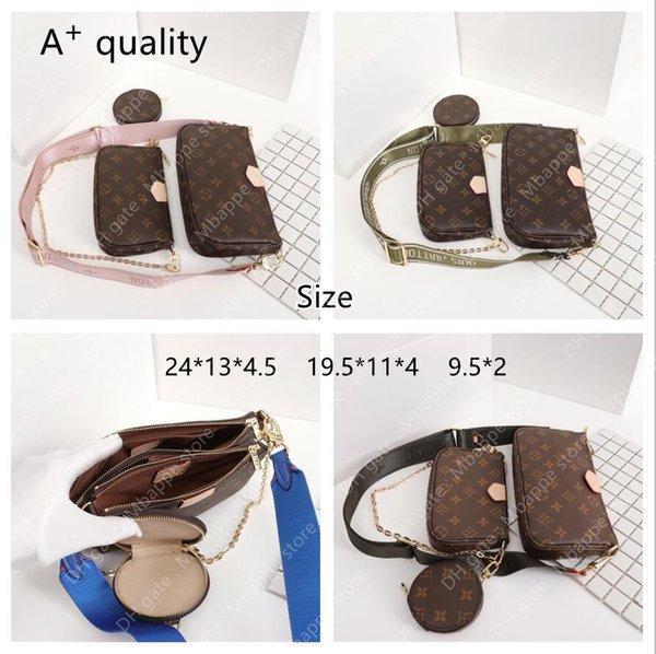 3 in1 Classic Designers Bags fashion bag handbag wallet phone Women Crossbody Genuine Leather Luxurys Handbags purses Designers Tote