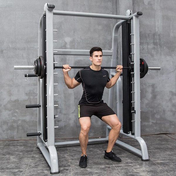 best selling Smith Machine Multi-function Gym Equipment Squat Rack Fitness Household Profession Portal Frame Bench Stand