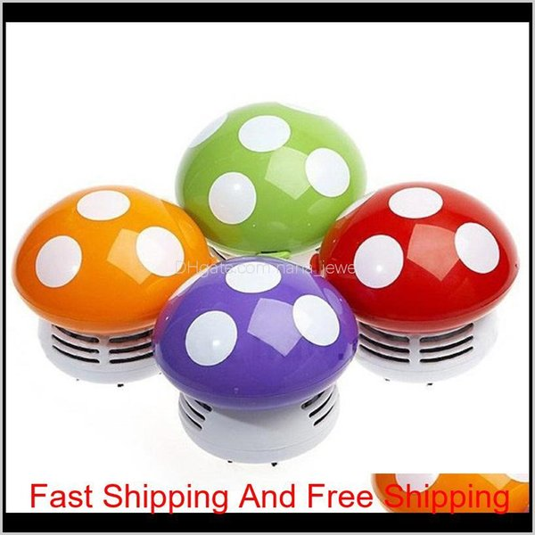 top popular Desktop Vacuum Cleaner Small Scale Mini Lovely Mushroom Cleaners Cartoon Keyboard Dust Removal Duster Hot Selling 14 5Bt L1 Egcgg 2Yc9N 2021
