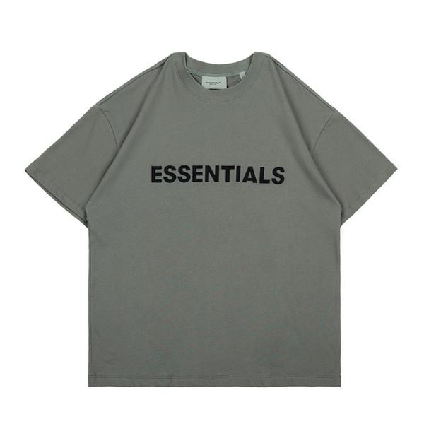 best selling Street fashion brand essentials stereo letters men and women oversize summer lovers loose half sleeve fashionn