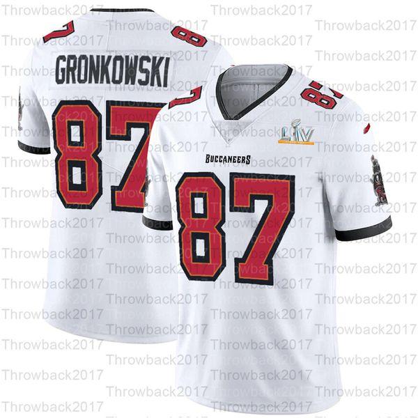 87 roubar gronkowski / branco
