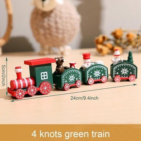 4 Nœuds Train Vert Style 4