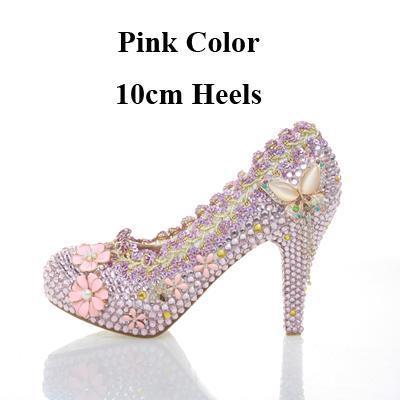 Pink 10cm Heels
