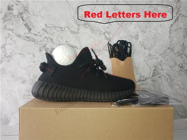الحروف الحمراء السوداء