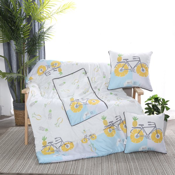 top popular Pillow by office cushion pillow nap blanket pillow by car folding quilt gift 2021 XL88 2021