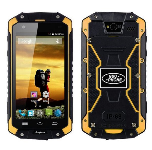 best selling discovery V9 Android smart phones Waterproof Dustproof Shockproof WIFI Dual camera 512M RAM 4G ROM 4COLORS