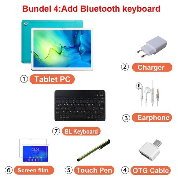 BL-Tastatur hinzufügen.